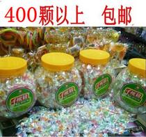 千纸鹤迷你水果糖果七多彩虹水晶混合口味儿时回忆华佳威散装糖