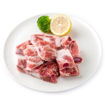【天猫超市】满66减30丹麦皇冠天然谷饲猪肋排200g 进口新鲜猪肉