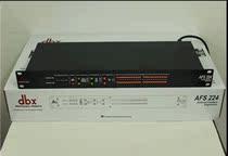 全国包邮)DBX AFS224反馈抑制器 24个滤点双通道 KTV 会议防啸叫