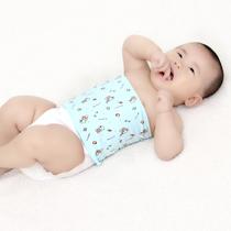 宝宝护肚子肚围 婴儿幼儿童纯棉秋冬睡觉 小孩腹围护腰带包裹肚子