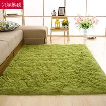 简约现代丝毛地毯客厅卧室茶几沙发房间榻榻米床边可定制满铺地毯