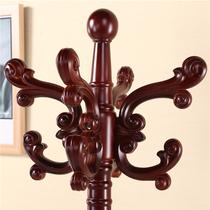 英发马克实木挂衣架 落地衣帽架 卧室简约现代家用客厅欧式组装