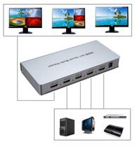 高清HDMI4进1出画面分割器无缝画中画分屏器切换器四路合成拼接器