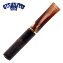 沙芬SAVINELLI意大利进口石楠木过滤芯烟嘴B542卷烟过滤器换芯型