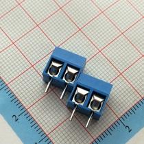 蓝色 5.08-301-2P 301-2P 蓝色接线柱 5mm间距 接线端子