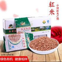 农家五谷杂粮云南特产梯田红米粥婴儿米糊糙米有机食品绿色无公害