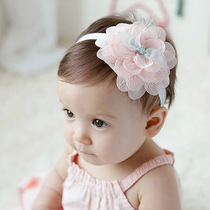 宝宝女童发夹皇冠发箍女孩婴儿头饰