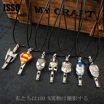 儿童项链饰品个性男童项链男款儿童韩国街舞走秀表演儿童挂件项链