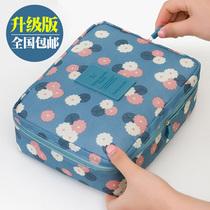 韩国女士化妆包大容量收纳包手拿包化妆袋小号便携防水旅行洗漱包
