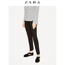 ZARA 女鞋 花朵印花皮革便鞋 11340201040
