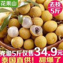 正宗泰国进口龙眼新鲜桂圆热带水果孕妇水果5斤装 核小皮薄汁水甜