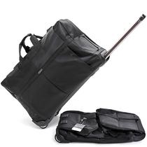欧美简约拉杆旅行包超大容量行李包旅行袋折叠托运出差搬家包新款