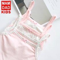 儿童女童纯棉夏季中大童宝宝打底衫