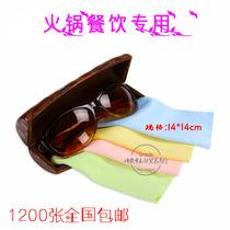 眼镜布批发厂家批发 超细纤维布镜头擦布手机擦屏布 定制LOGO