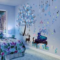 3D立体墙贴纸贴画卧室房间宿舍装饰壁纸创意海报温馨墙壁自粘墙纸