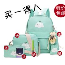 韩版学生校园小清新初中生可爱书包