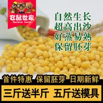 【天天特价】绿豆绿豆糕原料去皮绿豆黄消暑必备脱皮绿豆仁500g