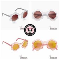 英国Next正品代购 17儿童可爱花朵防晒眼镜墨镜宝宝太阳镜 遮阳镜