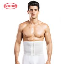 瘦秀男士夏季超薄塑身瘦身衣