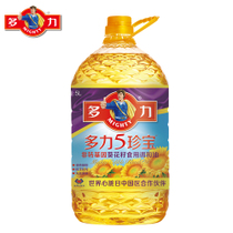 【天猫超市】多力 5珍宝非转基因葵花籽食用调和油 5L 科学压榨