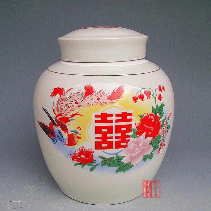 景德镇坛子陶瓷老式肉松坛腌菜陶瓷罐子储物步骤做包子的喜字图片