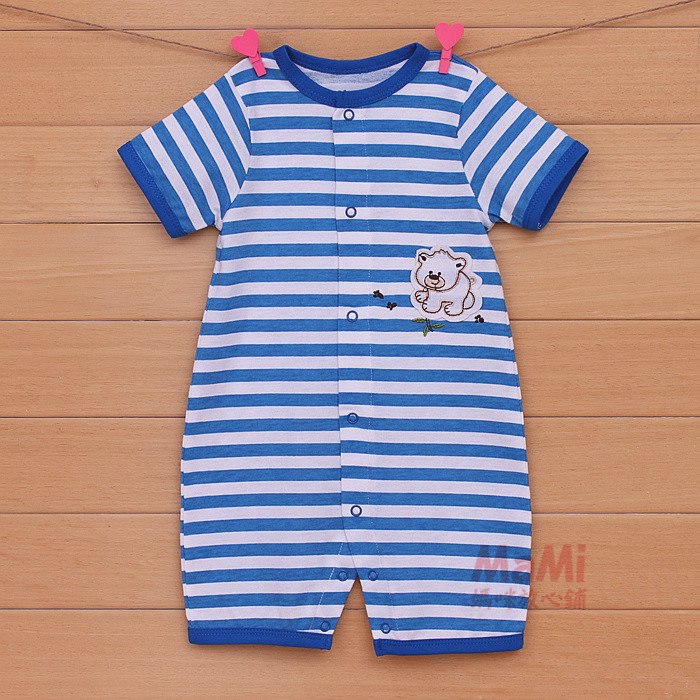 home baby Daily Specials Summer new baby clothes newborn baby clothes men coveralls Romper climb clothing Free Shipping