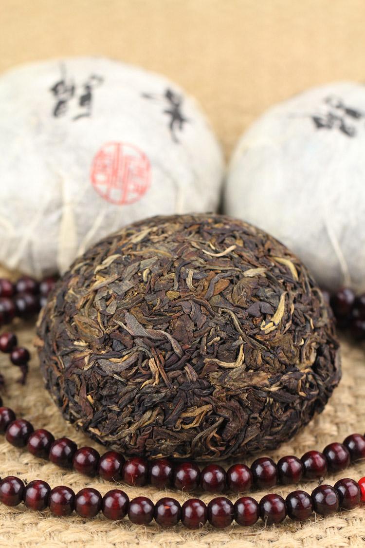 2005年昔归明前古树纯料100克沱茶 - 阎红卫 - 阎红卫经赢之道策划产业联盟