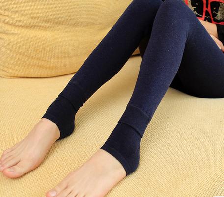 Кальсоны «Фирменные» и плюшевые мягкие леггинсы девушка корейской версии красочные осенью и зимой носить Slim брюки один
