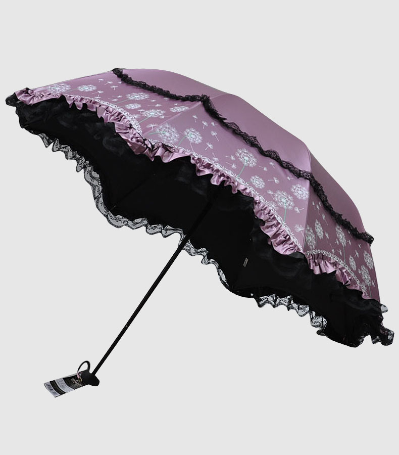 s women anti uv lace sun umbrella folding compact parasol princess rain umbrella. Black Bedroom Furniture Sets. Home Design Ideas