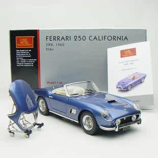 Коллекционная моделька автомобиля CMC 1:18 1961 250 GT Ferrari 250gt Калифорния синий hardtop Coupe модели