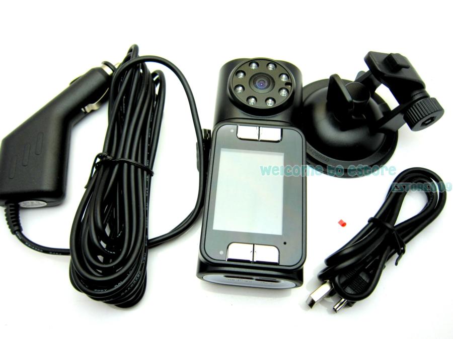 Wide 150° HD 720P IR Night Vision Car Dash Cam Video Camera Recorder