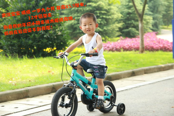 Royalbaby The genuine excellent shellfish children bicycle 12-inch 14-inch 16-inch 18-inch aluminum alloy frame men and women baby stroller lightweight