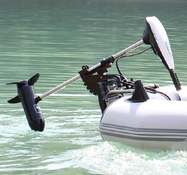 электрические двигатели к моторным лодкам