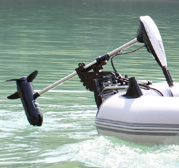 лодка с электромотором китай