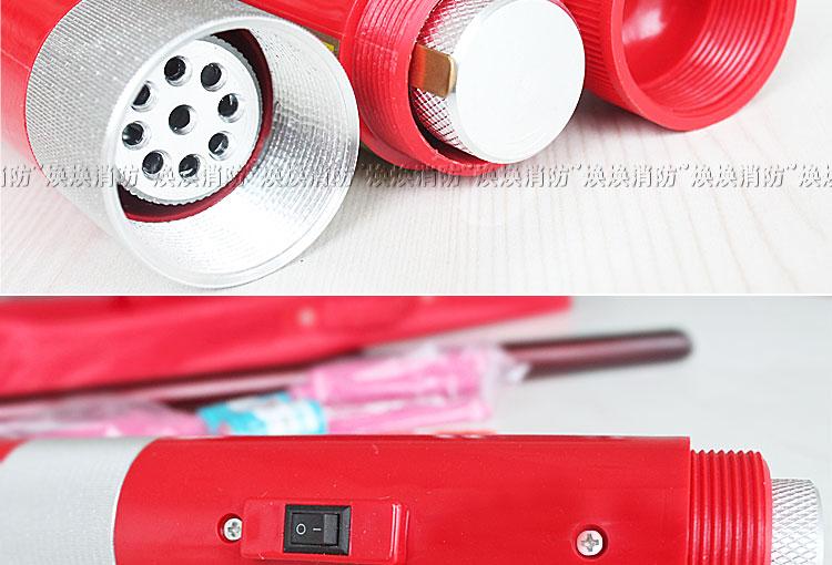 消防烟抢加烟试验器烟感检测仪器金属材质感烟探测器测试