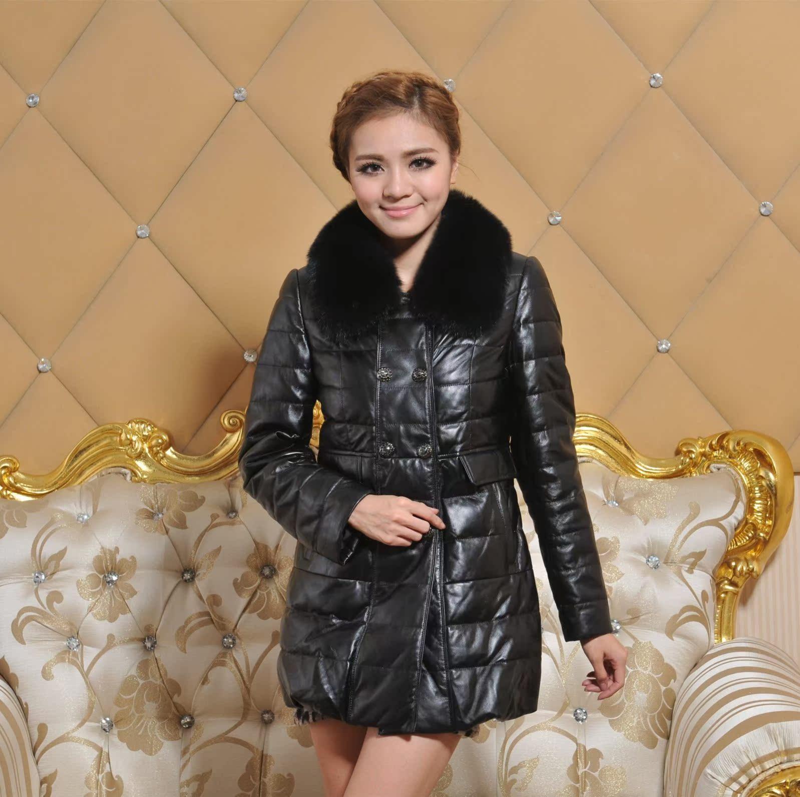 Кожаная куртка LEO 1309