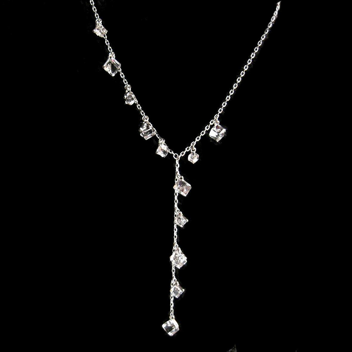 Ожерелье Млечный кристалл свитер цепи длинные мода ожерелье светит ярко дикий темперамент качеств подлинной почты
