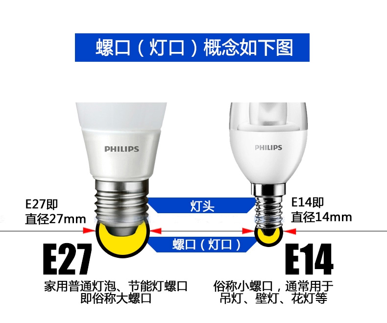 LED-светильник Philips  Led E14 4W/4.5W Lamp - 10