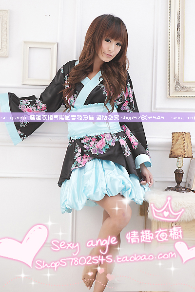 Contains Adult Sexy lingerie uniform temptation pajamas sets Adult Products confused bathrobe and clothes sexy lingerie