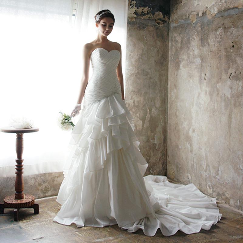 Свадебное платье Lan Mu 2013