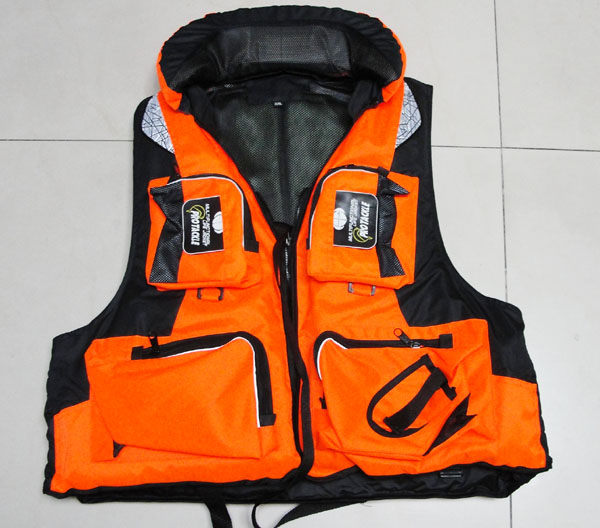 Supply life jackets vests fishing vests inflatable boat for Inflatable fishing vest