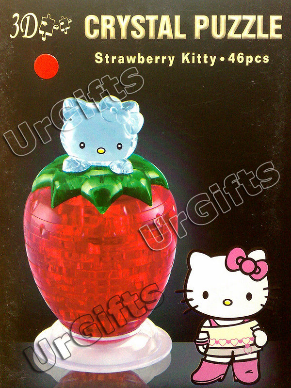 hello kitty 3d crystal puzzle instructions