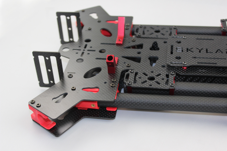 New 680mm Alien Carbon Fiber Folding Quadcopter Frame Kit