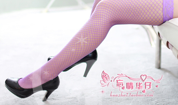 Veegol-HG Classic Sexy Lace Mesh Transparency Women Stockings