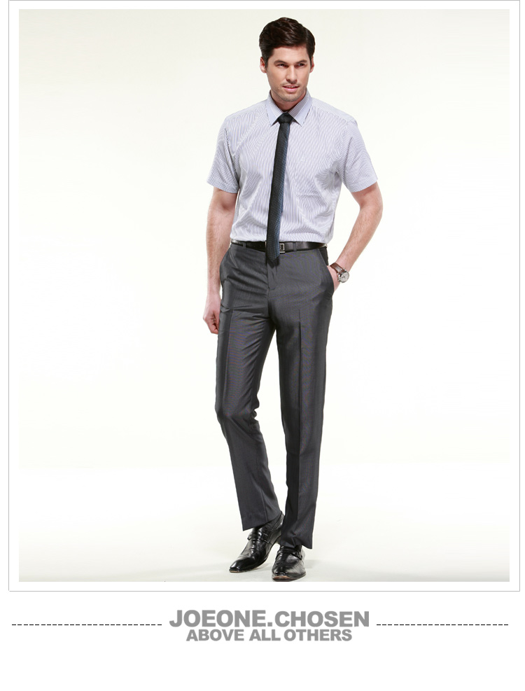 The special offer Joeone genuine spring models business suits men's trousers casual men pants DP straight men's trousers