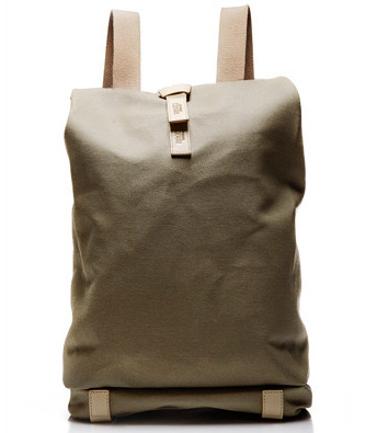 рюкзак Brooks england  HANDMADE 24 Canvas Leather Backpack