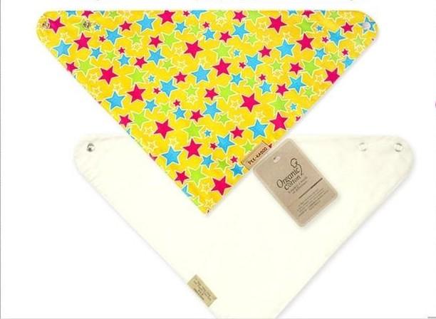 Childeku-HG Waterproof baby bibs baby bib cotton bandage scarf snaps bib bibs children