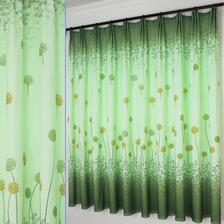 Dandelion curtains
