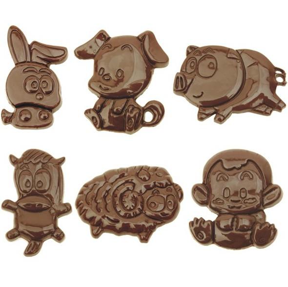 Посуда для выпечки 2112a q 12 Зодиак DIY абразивы шоколад плесень шоколадное желе пудинг Выпекать формы