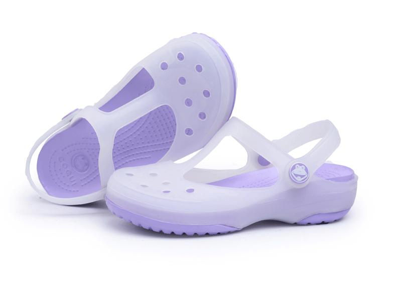 ; Cool Fun coqui hole shoes sandals jelly shoes Mary Jane Girls discoloration sandals and slippers sandals
